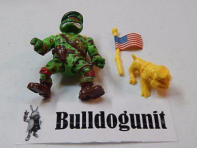 Raph the Green Teen Beret w/ Dog & Flag Teenage Mutant Ninja Turtles Figure 1991
