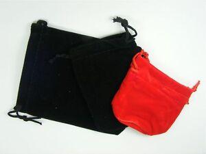 5-or-10pcs-VELVET-Drawstring-Jewellery-POUCH-Gift-BAGS-7x7cm-7x9cm-9x12cm