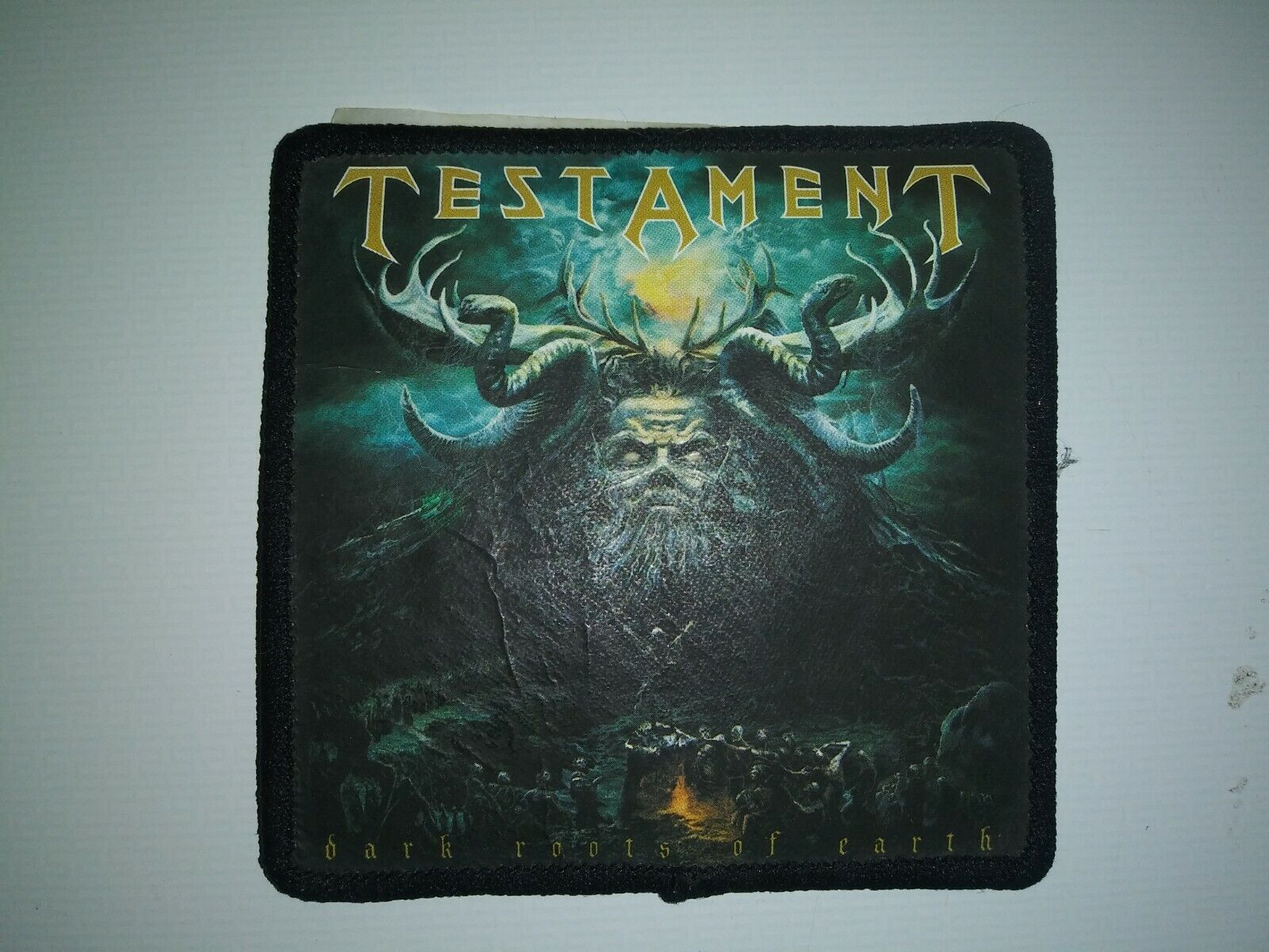 TESTAMENT DARK ROOTS OF EARTH PATCH  - $0.99