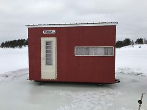 Ice Fishing Hut