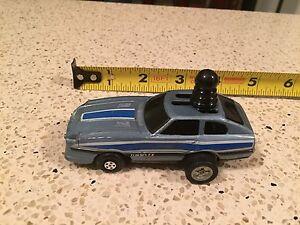 VINTAGE 1980s Schaper Toys Five Winders Pull Back Datsun