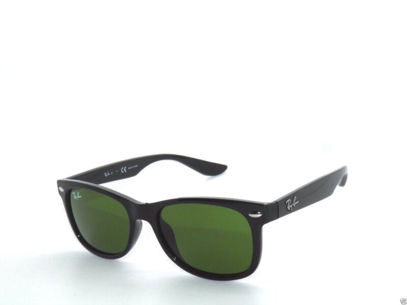 RAY BAN kids sunglasses RJ 9052S SHINY  BLACK/GREEN 100/2 JR 9052