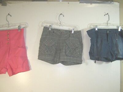 Wholesale Lot of 10 Women's Shorts - Various Styles & Sizes  - Wholesale Womens Shorts
