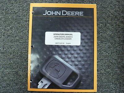 John Deere 450-c Crawler Loader Owner Operator Maintenance Manual Omt71337