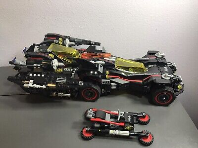 LEGO Batman Movie - The Ultimate Batmobile - 70917 Used Incomplete
