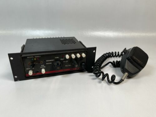 Code 3 Vcon 3600 Series Model 3692L4 with Microphone