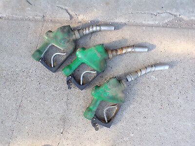 Fill-rite Fill Rite Pump Nozzle Lot Of 3 Used Vintage Gas Fuel Diesel Nozzles