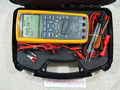 Fluke 289 Trms Multimeter Kit With Accessories Free Storage Case - 15775.