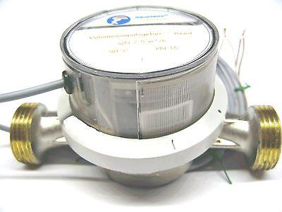 Durchflussmesser 1 Imp/L elektronisch SPS QN 2,5 Wasserz. Volumenmessteil_N - Elektronische Durchflussmesser