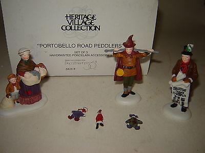 Dept 56 Dickens Village - Portobello Road Peddlers - 3 Pc Set