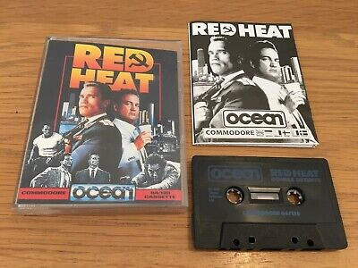 Red Heat (Ocean) - Commodore 64 / 128 Cassette Tape Game