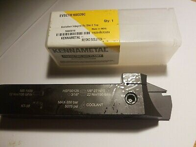 Kennametal Beyond Evolution Grooving And Cut-off Top Notch Integral Tool Holders