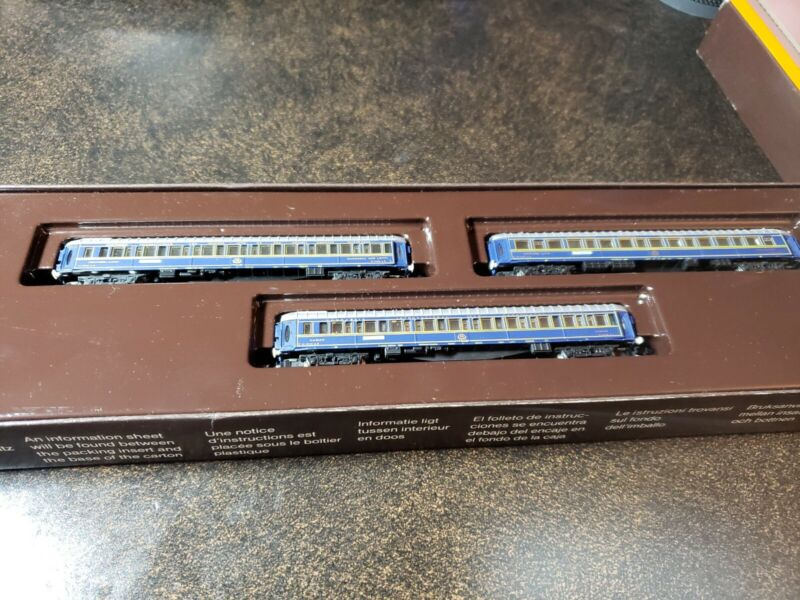 Z Scale Marklin 8777 Orient Express Passenger 3-Car Set LNIB Brand New!