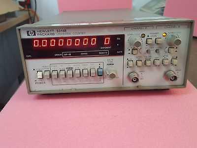 Hp Hewlett 5316b Digital Universal Frequency Counter