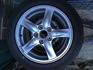 "Honda Accord euro 16"" wheel and tyre. Bexley North Rockdale Area Preview"