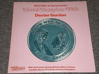 Lionel Hampton With Dexter Gordon Whos Who In Jazz Wwlp 21011 Fast Shipping