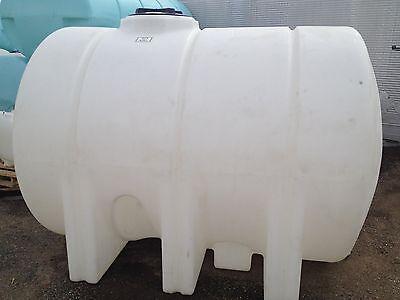 1325 Gallon Poly Plastic Water Storage Leg Tank Tanks