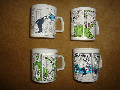 Lovely & Rare Tintin Mugs - Planta 1990 - various designs - individual purchase