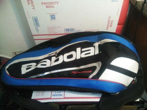 Babolat Racket Holder X 6 Club Line Black Yellow Tennis Basg Tennistasche