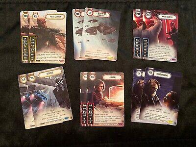 Star Wars Destiny - SG19D3 Promos - Pulse Cannon etc...