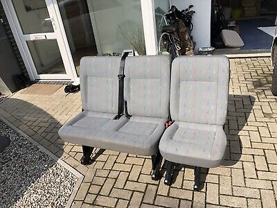 vw t5 transporter kombi 2+1 Rear Seats