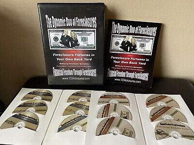 FORECLOSURE FORTUNES IN YOUR OWN BACKYARD - Dynamic Duo Of Foreclosures 12CD'S!