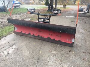 8.6' boss straight plow , rt3 , price is firm