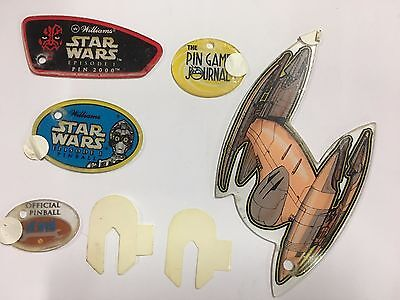 Williams Star Wars Episode 1 Pinball 2000 Goody Bag - New NOS Plastics