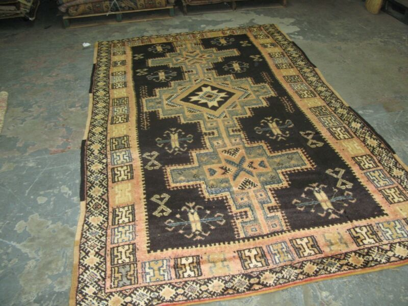 Antique African Moroccan Atlas  Rug 5
