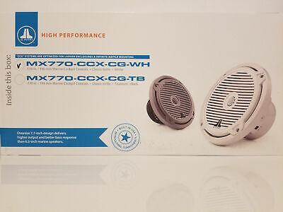 JL Audio MX770-CCX-CG-WH КЛАССИЧЕСКИЙ ГРИЛЬ БЕЛЫЙ 7.7