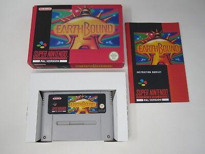 EarthBound - Nintendo SNES (PAL) Game - Reproduction Repro comprar usado  Enviando para Brazil