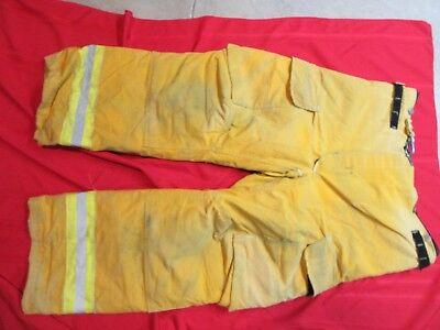 Janesville Lion Apparel Turnout Pants Firemans Bunker Pants 38 X 29 Halloween