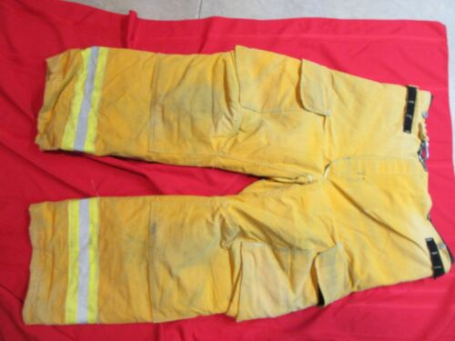 Janesville Lion APPAREL Turnout Pants Firemans Bunker Pants 38 X 29 HALLOWEEN