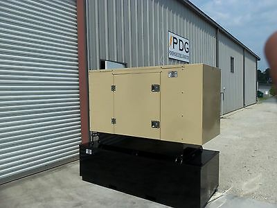 20 Kw Diesel Generator Perkins Enclosed With 150 Gallon Fuel Tank Auto Start