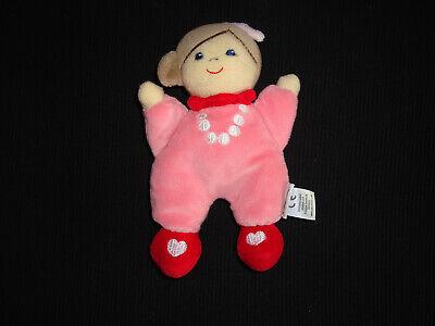 Sterntaler Mädchen Puppe Püppchen rosa 17cm Kuscheltuch Schmusetuch 108 wie Neu