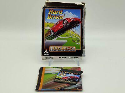 Hard Drivin   Atari Lynx   Complete