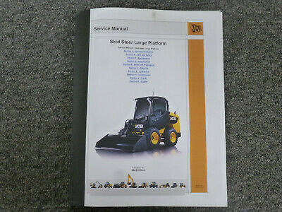 Jcb 225 225t 260 260t Skid Steer Loader Shop Service Repair Manual Sn 1745010-