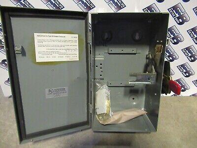 Westinghouse Dfb 100 Amp 600 Volt Type Fb Circuit Breaker Enclosure -new-en96