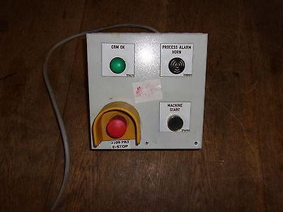 Klassen Start Emergency Stop Safety Switch 284341-1-13-07 Free Shipping