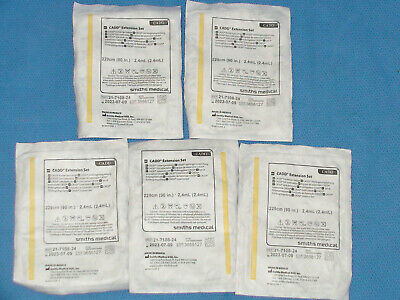 Cadd Smiths Medical Extension Set 90 Ref21-7108-24 Lot Of 5 2023-07-09