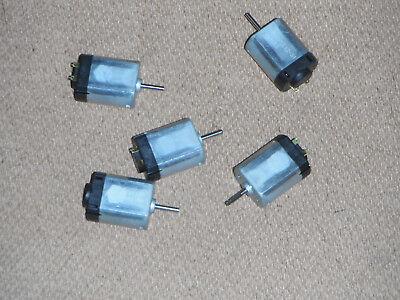 Lot of 5 Hobby DC Motors 24V (4673)