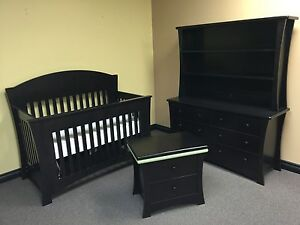 Crib Dresser Nightstand Set
