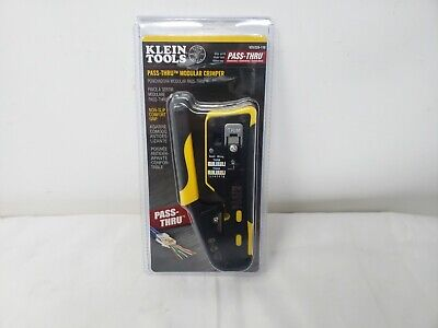 Klein Tools Ratcheting Cable Crimper And Stripper - Vdv226110