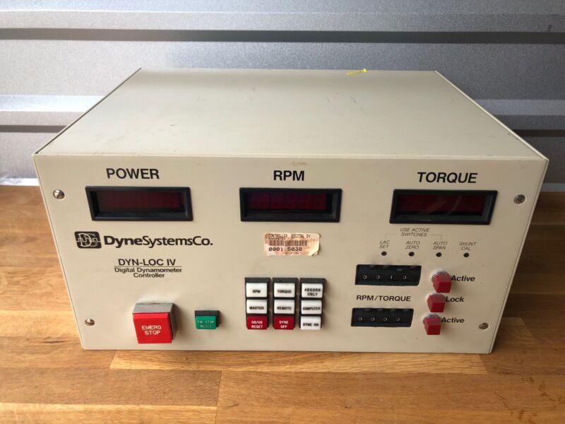 Dyne System Co Dyn-Lov IV Digital Dynamometer Controller
