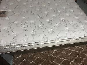 Sold--- queen mattress and box spring