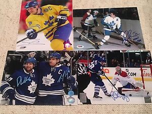 Toronto Maple Leafs signed 8x10's Edmonton Edmonton Area image 1