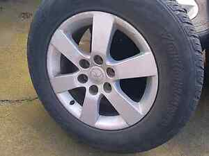 Pajero rims an tyres South Launceston Launceston Area Preview