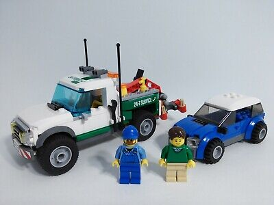 Lego City Pickup Tow Truck 60081 100% complete with 2 minifigs