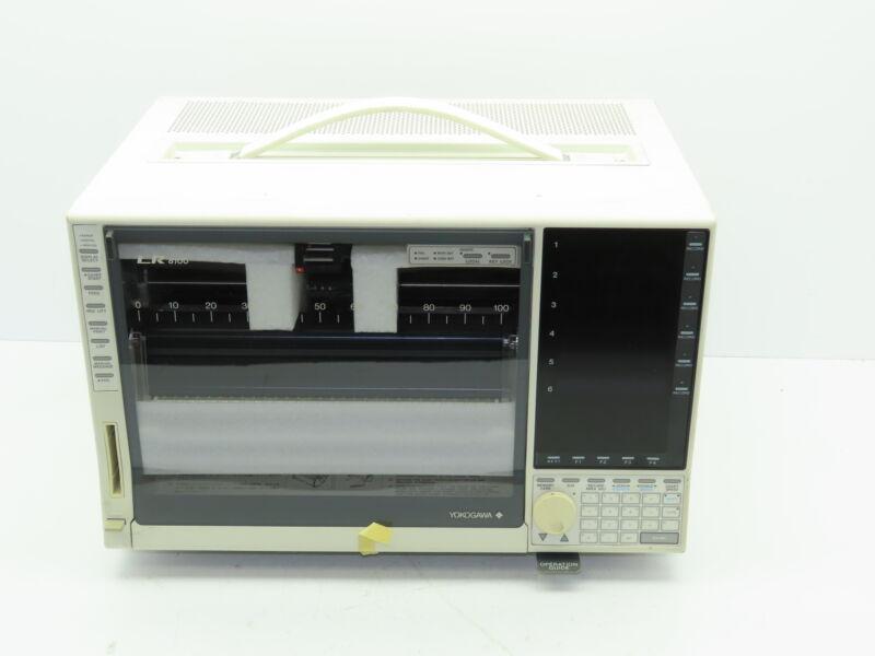 Yokogawa LR8100 Hybrid Chart Recorder