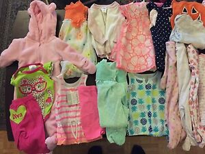 3-6 month baby girls clothing lot